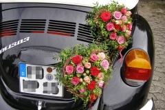 Blumen Krug Autoschmuck