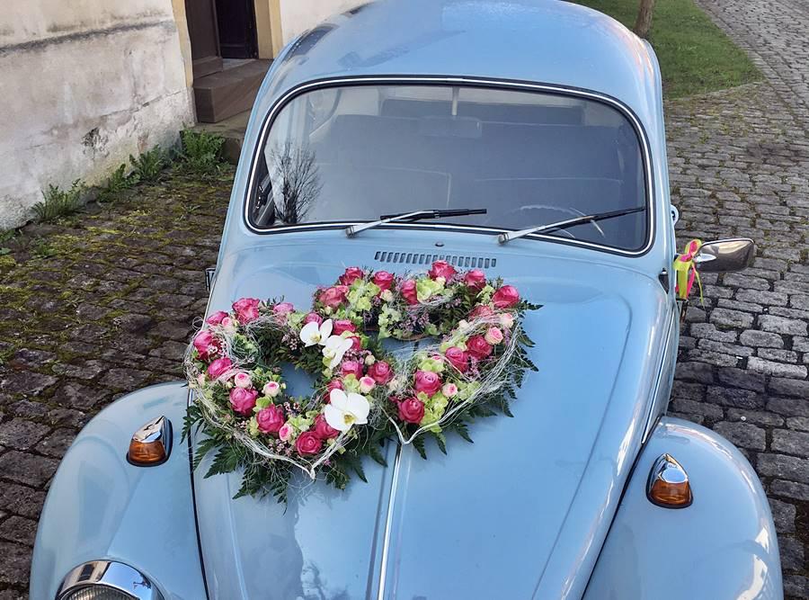 Autoschmuck Autodeko Fur Die Hochzeit Kreative Ideen Aus Gersfeld