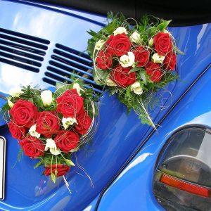 Blumen Krug - Autoschmuck